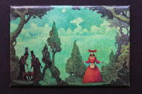 Michael Hutter - In the Woods - fridge magnet